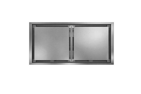 Câmpanula de tecto Vario aço inox AC402180